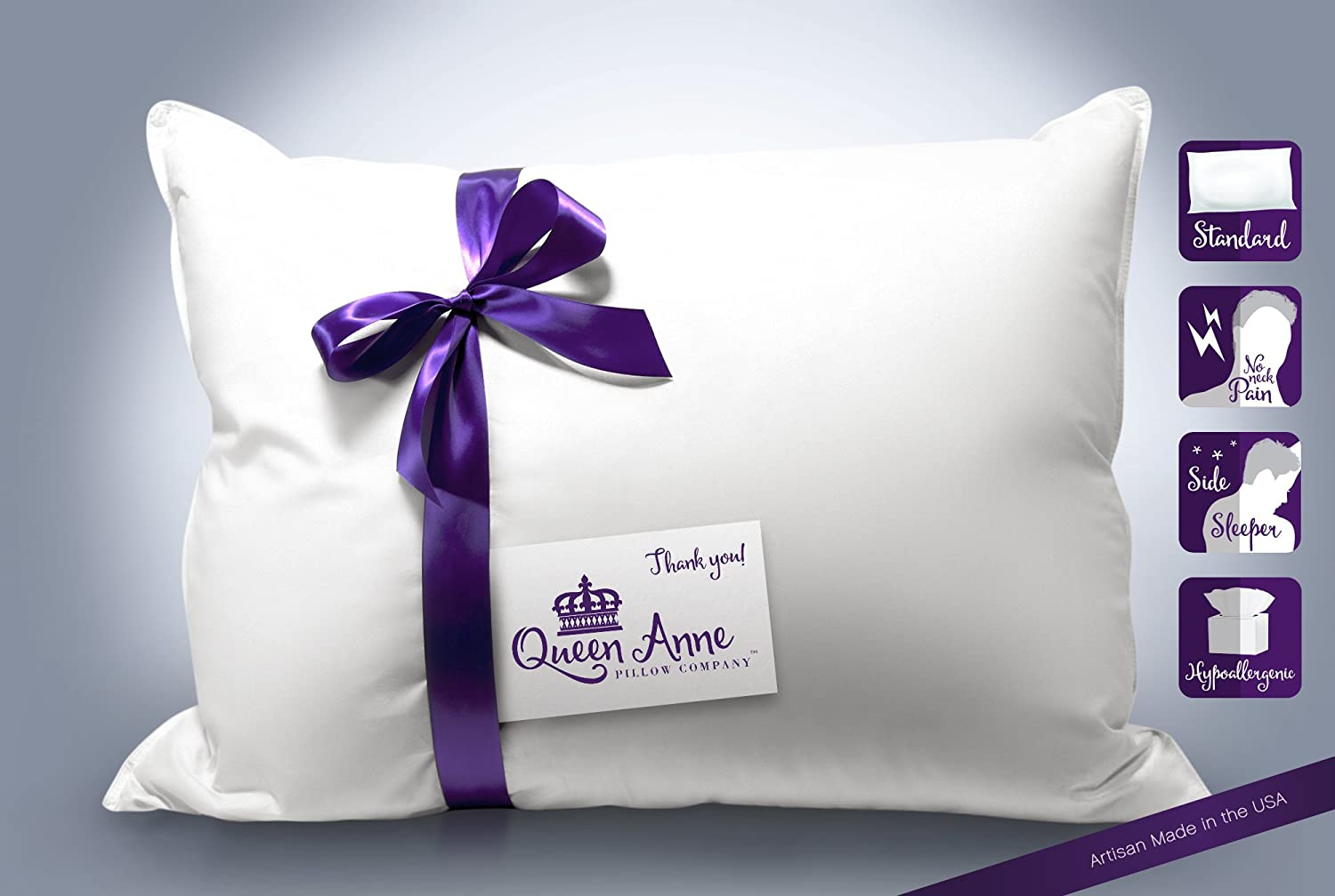 SYNTHETIC DOWN PILLOW