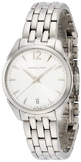 Hamilton Reloj Analogico para Mujer de Cuarzo con Correa en Acero Inoxidable H42211155: Amazon.es: Relojes