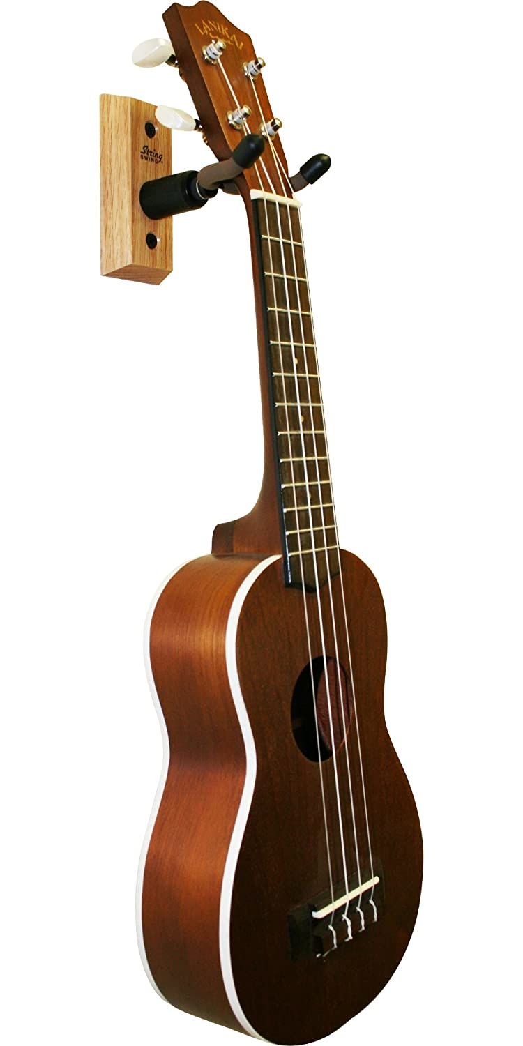 Amazon.com: String Swing Ukulele Wall Hanger w/ Wall Bumper ...