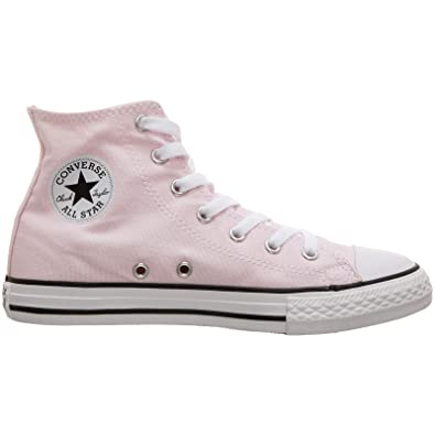 a2e2abe39bdd5 Converse Chuck Taylor All Star Seasonal Canvas Hi Baskets Mode Filles Rose  - 27 - Baskets