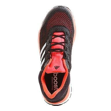 adidas Response Boost men39 s Running Shoes (Black Red) - EU 48 - UK ... edef6f109