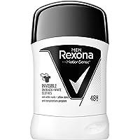 REXONA MEN Invisible on black & white clothes antyperspirant w sztyfcie dla mężczyzn 50 ml