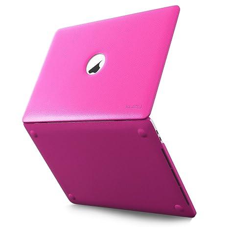 Amazon.com: Funda de piel sintética para MacBook Pro de 13 ...