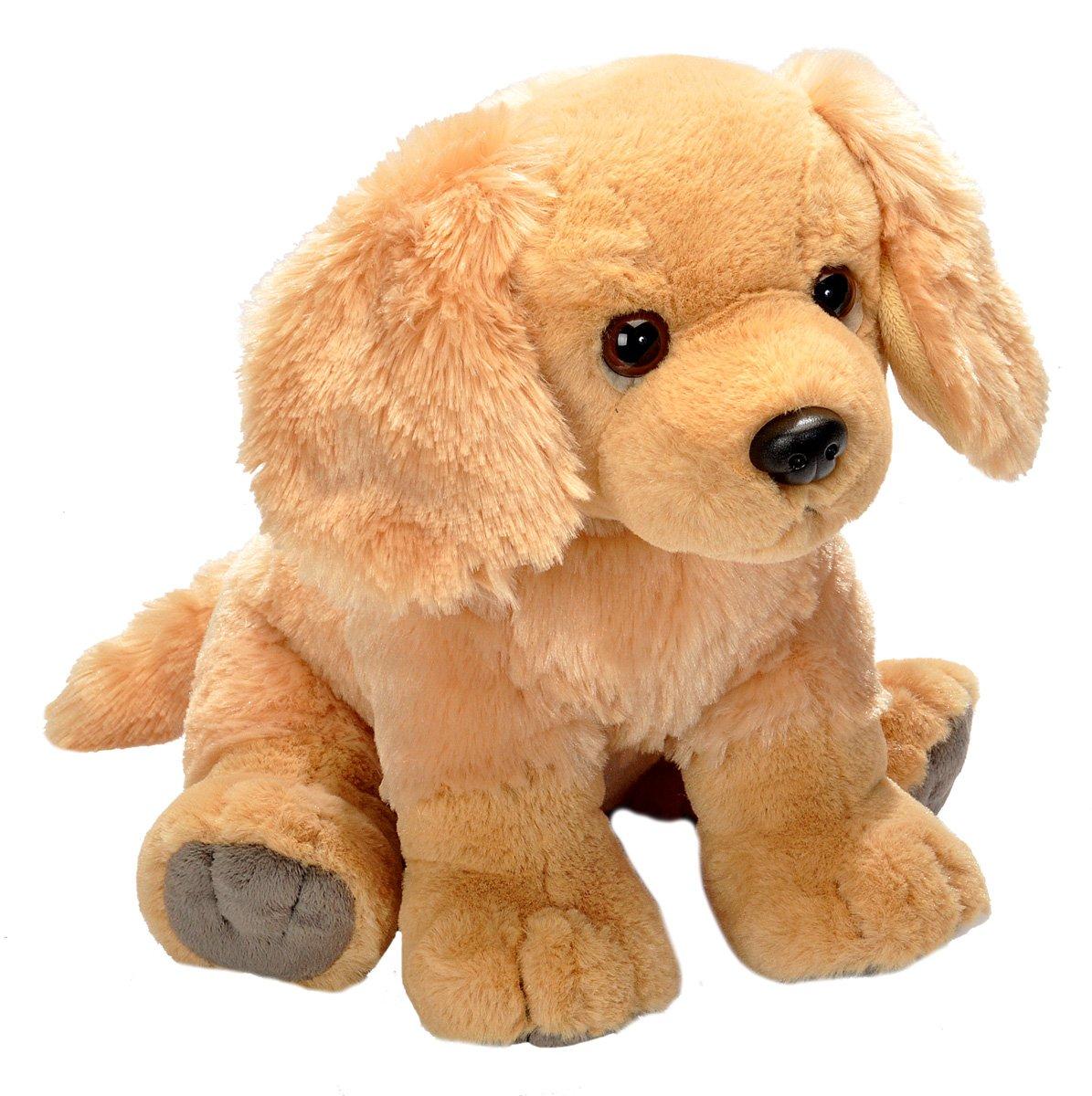 Wild Republic Golden Retriever Plush Stuffed Animal Plush Toy Gifts Kids Pet Shop 12 Inches