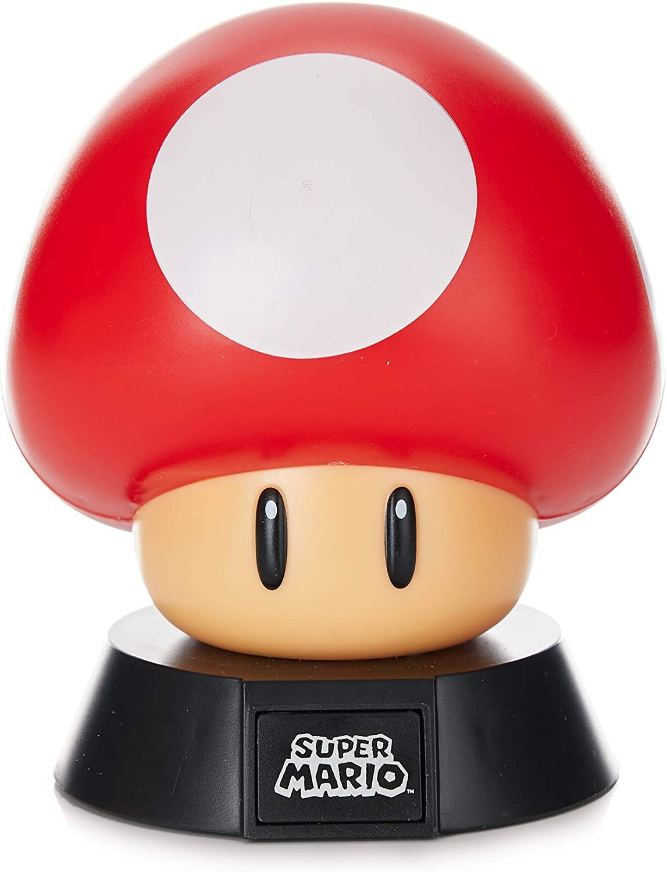 Amazon Com Super Mario Bros Mushroom 3d Night Light Decorative Lamp Collectible Home Improvement