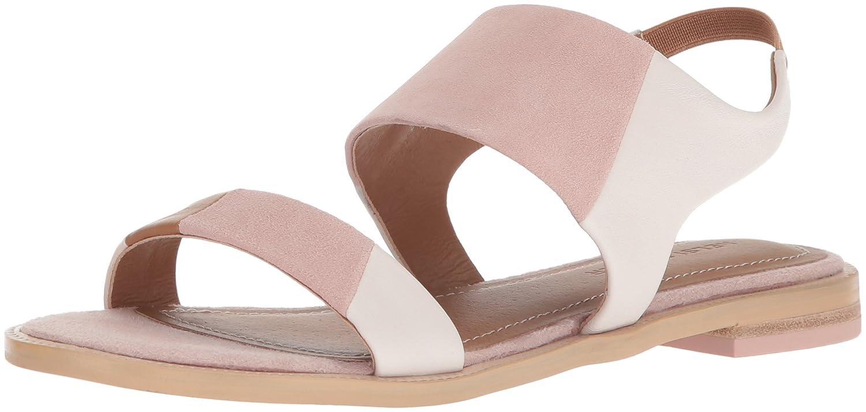 Kelsi Dagger Brooklyn Women's Rogan Flat Sandal B076XHJDMF 9.5 B(M) US Off White/Pale Pink
