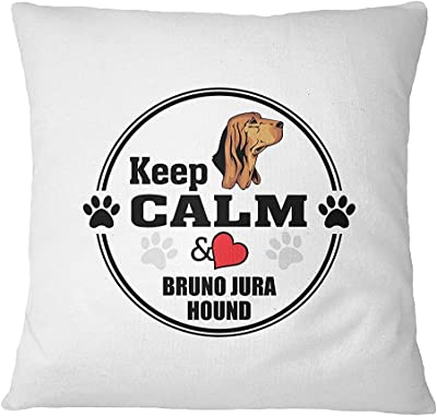 BRUNO JURA HOUND DOG Keep Calm Love Sofa Bed Home Decor Pillow Cover Cover Only ArtsLifes