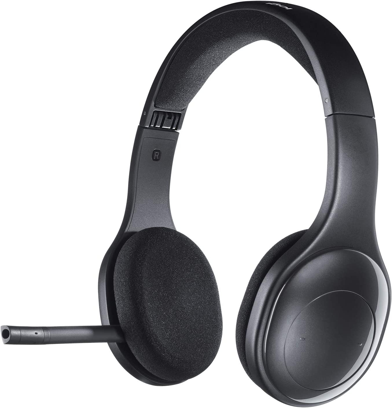 Logitech H800 Auriculares Inalámbricos Bluetooth, Sonido Estéreo de Alta Definición y Micrófono con Supresión de Ruido, Nano-Receptor USB, Multi-Dispositivos, Batería Recargable, PC/Mac/Móvil/Tablet