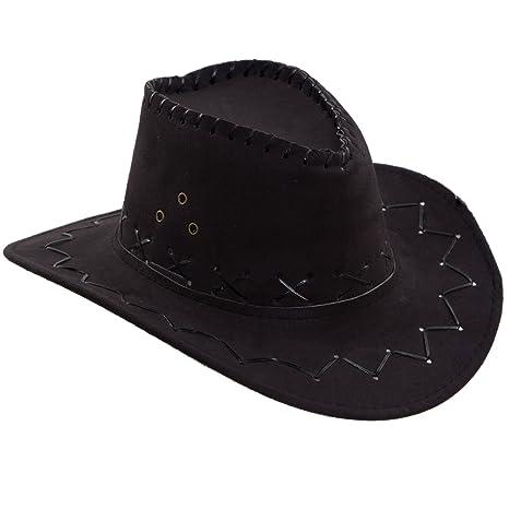 foto ragazze cappello cowboy nero