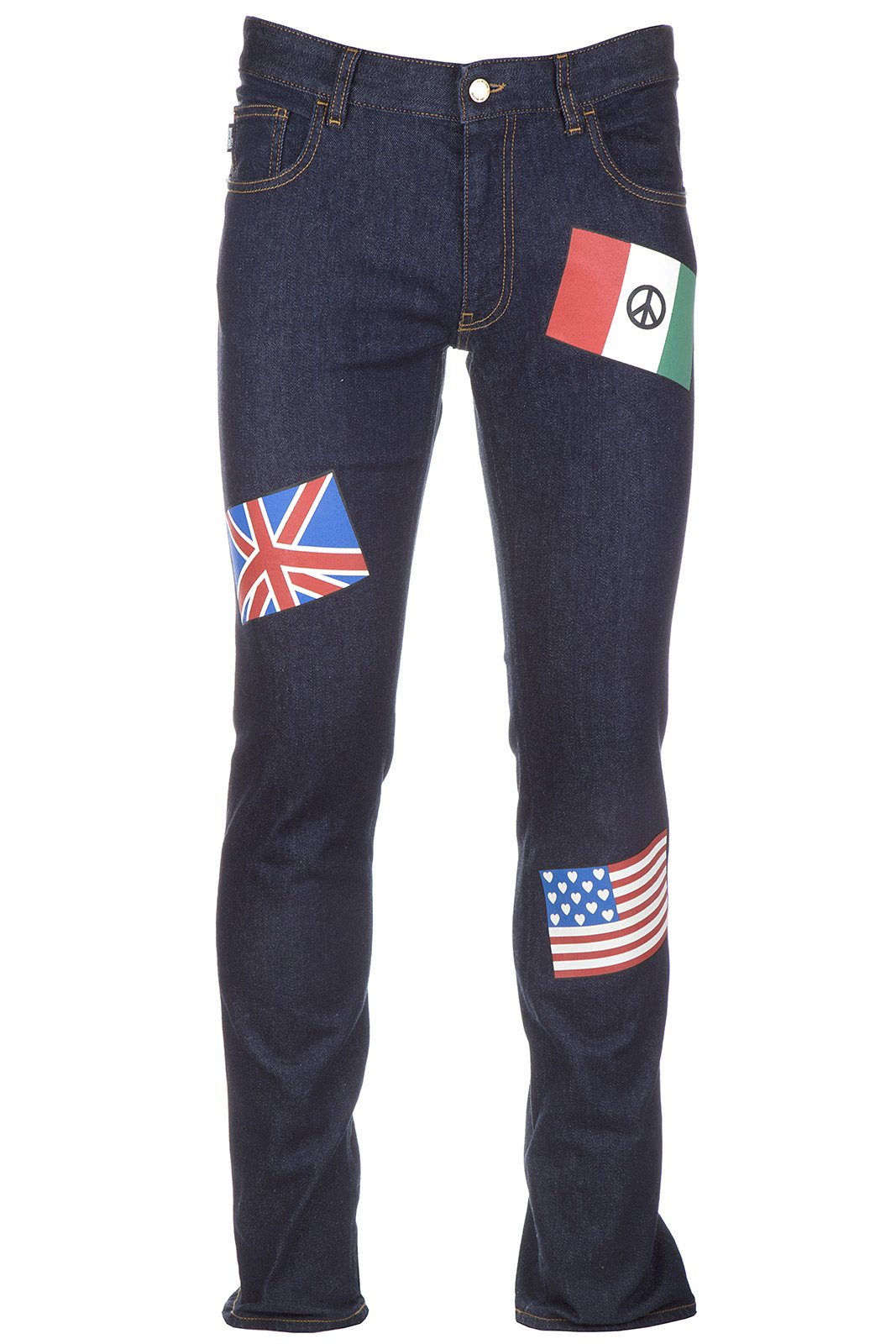 Love Moschino Men's Jeans Denim Blu US Size 32 (US 32) M Q 428 03 S 2762 00