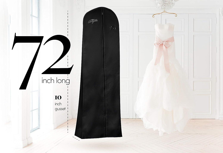 Details about  /Garment Dress Cover Dustproof Storage Bag Foldable Long Bridal Wedding Dresses