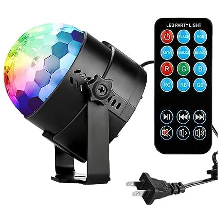amazon com disco ball disco lights coidea party lights sound
