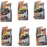Matchbox, Bundle of 6 1:64 Scaled Die-Cast Vehicles (Styles May Vary)