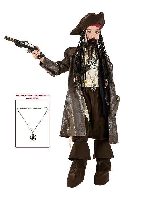Commerciale Italiana Disfraz Pirata Capitán Jack Niño: Commerciale ...