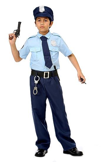Magicoo Polizei Kostum Kinder Jungen Madchen Faschingskostum