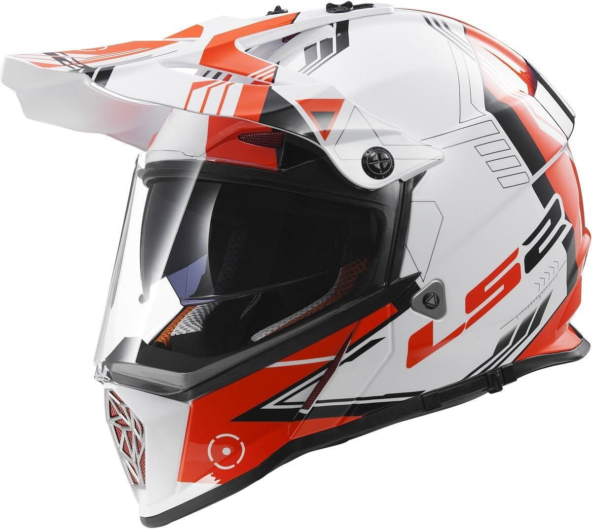 LS2 Helmets Pioneer Trigger Adventure Off Road Motorcycle Helmet