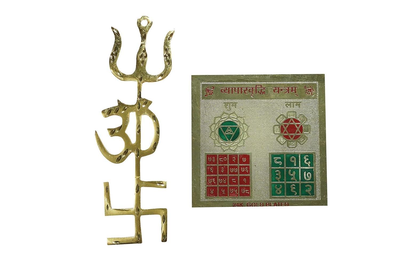 Mogul interior Yoga Altar Tri shaktí potente símbolo con ...