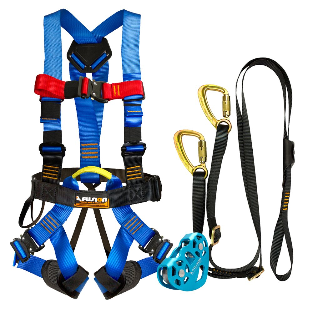 Fusion Climb Pro Cajón de Seguridad Kit de línea de Correas de ...