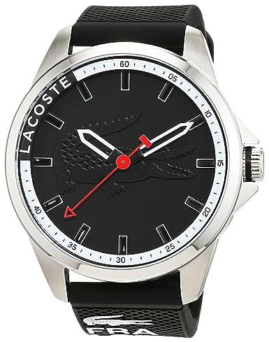 Lacoste 2010840 - Reloj analógico de pulsera para hombre, correa de silicona: Amazon.es: Relojes