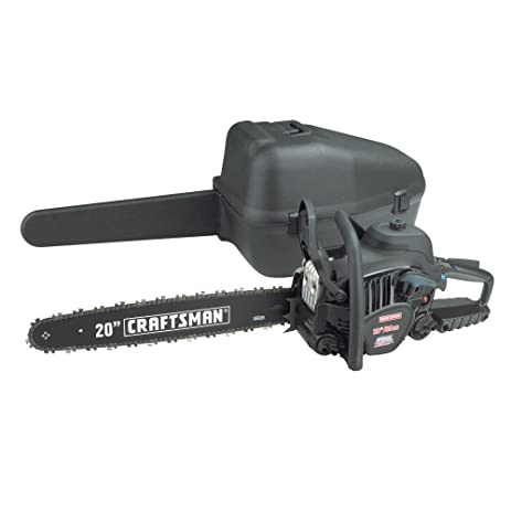 Amazon craftsman 50cc 20 gas chain saw case included craftsman 50cc 20quot gas chain saw case included greentooth Image collections
