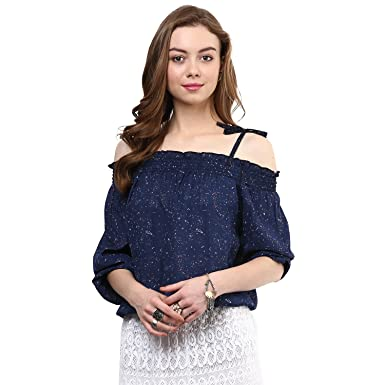 Rare Women's Regular fit Top Women's Tops at amazon