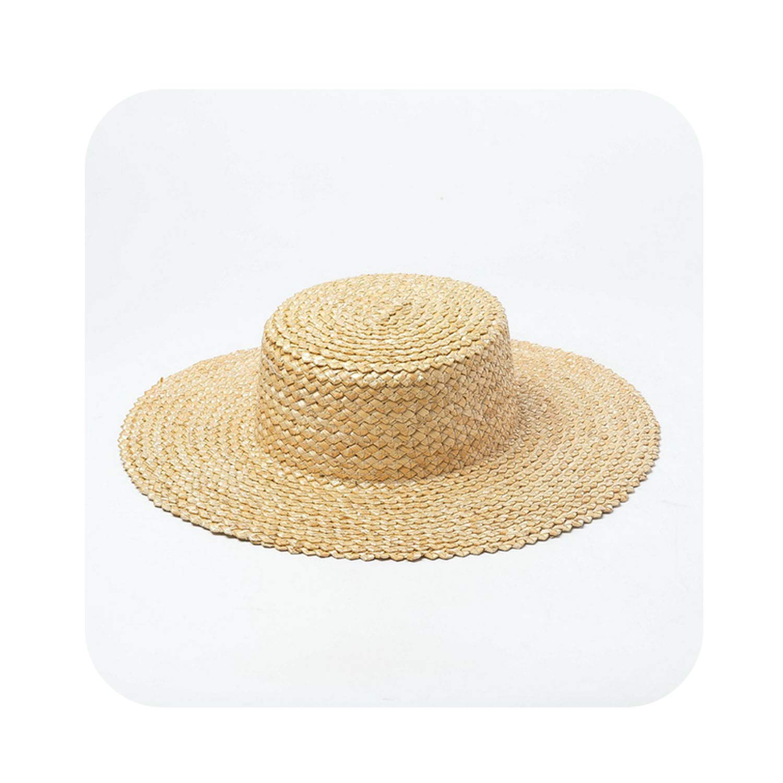003 10cm Straw Hat Sun Hat Women Summer Beach Vacation Hats Lady Safari Hat,