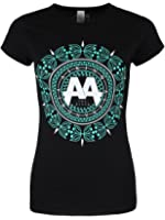 Asking Alexandria Women's Glitz AA T-shirt Black