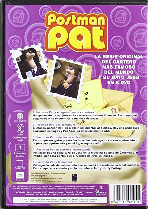 Amazon.com: Postman Pat 4 (Non Us Format) (European Format - Zone 2): Movies & TV