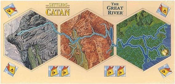 The Great River of Catan: Amazon.es: Juguetes y juegos