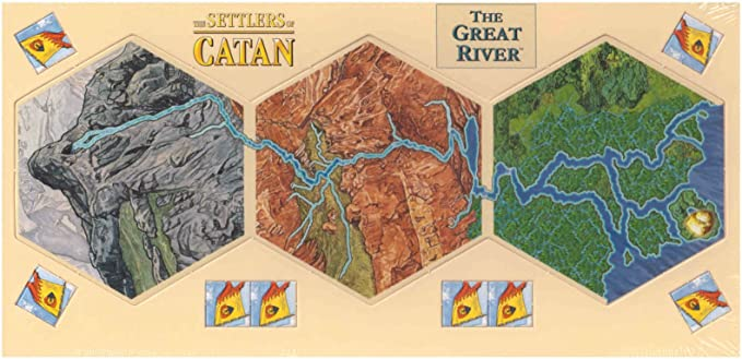 The Great River of Catan: Amazon.es: Juguetes y juegos