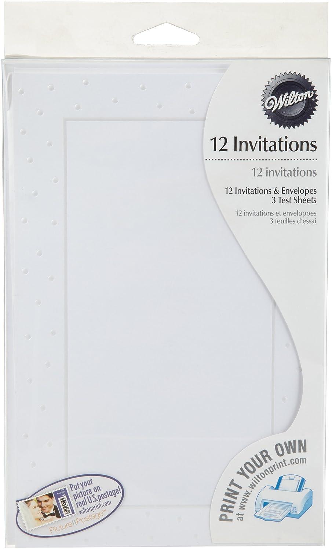 Wilton 1008-1471 12 Count Elephant Invites