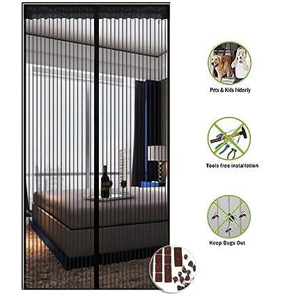 AdongTop Magnetic Screen Door-Screen Door with Dacron Heavy