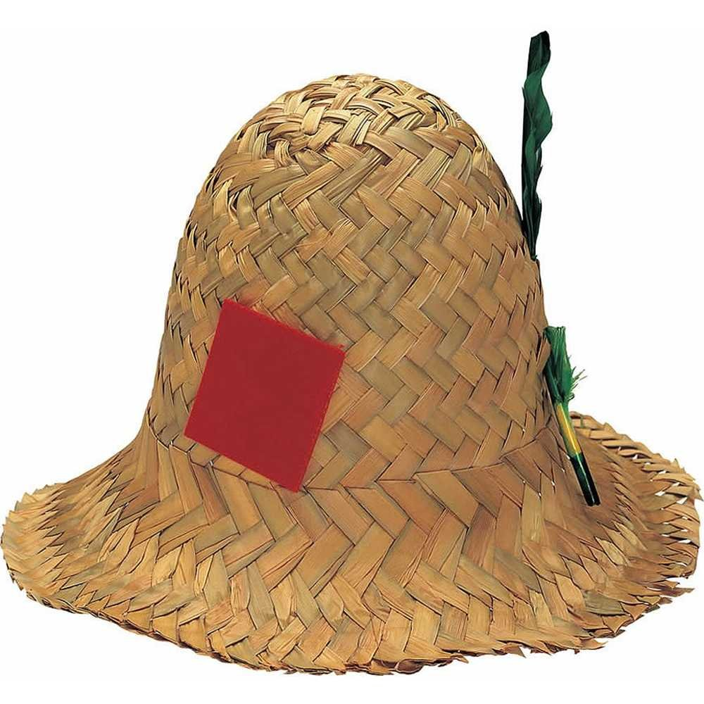 Rubie's Costume Co Straw Hillbilly Hat