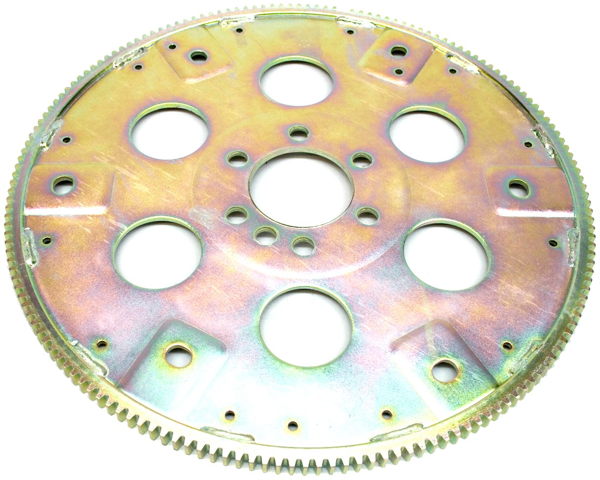 PRW 1835001 SFI-Rated Internal Balance 168 Teeth Chromoly Steel Flexplate for Chevy 1957-85, 90 Early, V6 by PRW