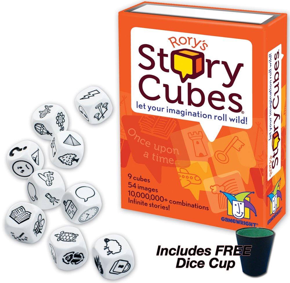 【お年玉セール特価】 Rory's Story Cubes Story B004S7NSPA with FREE Cup Dice Cup by Gamewright B004S7NSPA, jsparadise:1b10475e --- cliente.opweb0005.servidorwebfacil.com