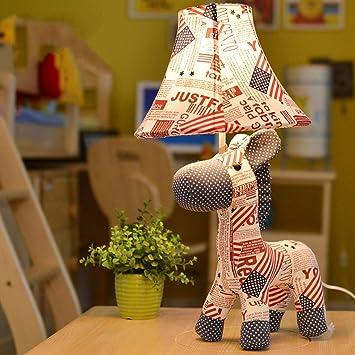 Tuch Kinderzimmer Bedside Lampe Kreative Persönlichkeit Tisch Lampen ...