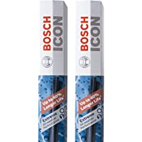 Bosch ICON Wiper Blades 22A22B (Set of 2) Fits 2010-05 Buick Allure, 2014-02 Cadillac Escalade, 2010-00 Chevrolet Impala, 2010-06 Dodge Charger +More, Up to 40% Longer Life, Frustration Free Packaging