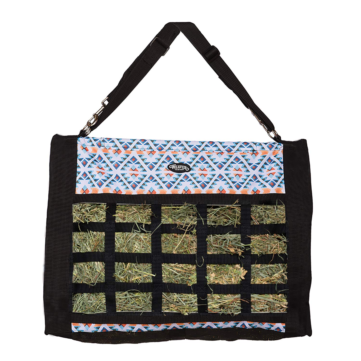 Slow Feed Hay Bag, Winter Aztec