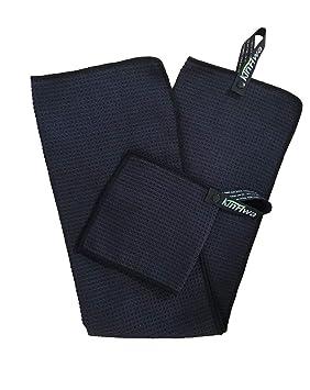 KinHwa Juego de toallas de golf de microfibra de 14 x 29 pulgadas, 1 pieza