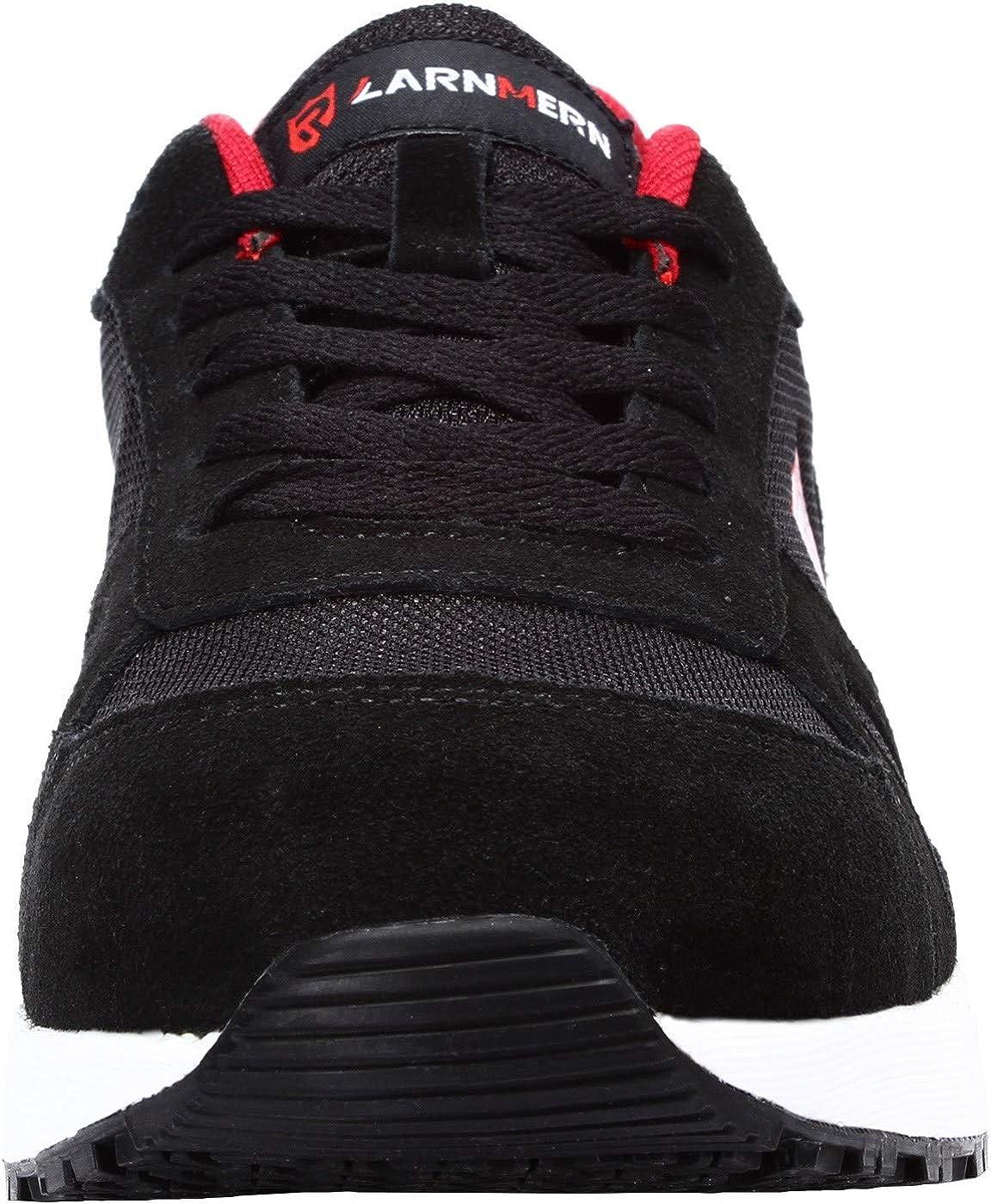 LARNMERN Chaussure de Securit/é Homme Femme Legere Embout en Acier Chaussure Respirant Basket Securit/é R/éfl/échissant Chaussure de Travail Bottes de S/écurit/é LM-112