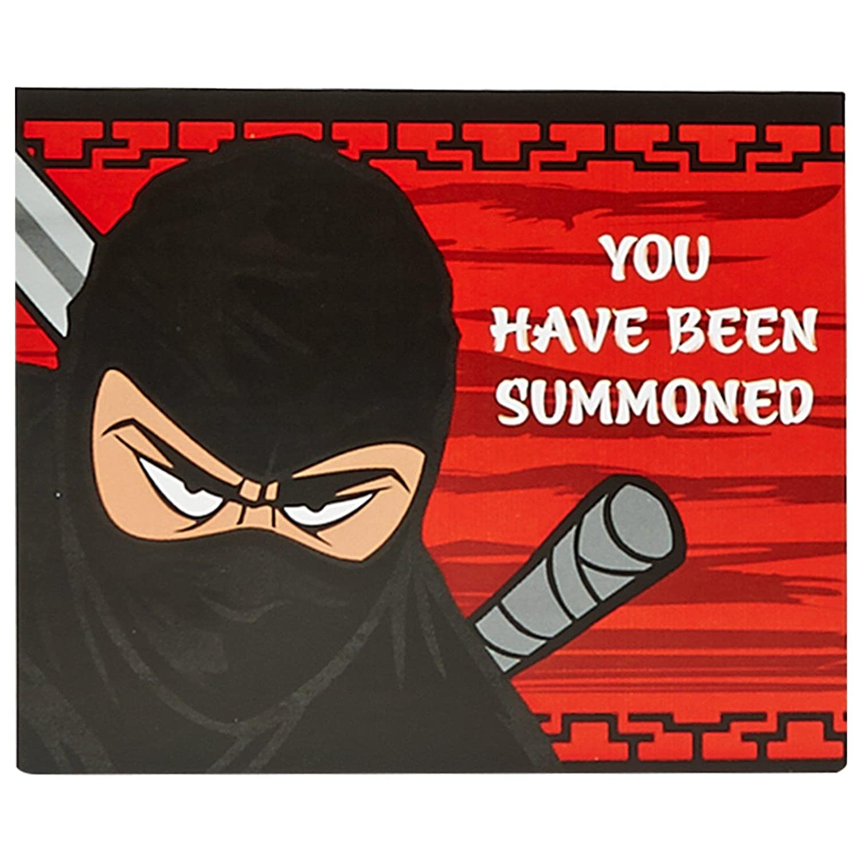 Amazon.com: Ninja Warrior Party Supplies - Invitations (8): Toys ...