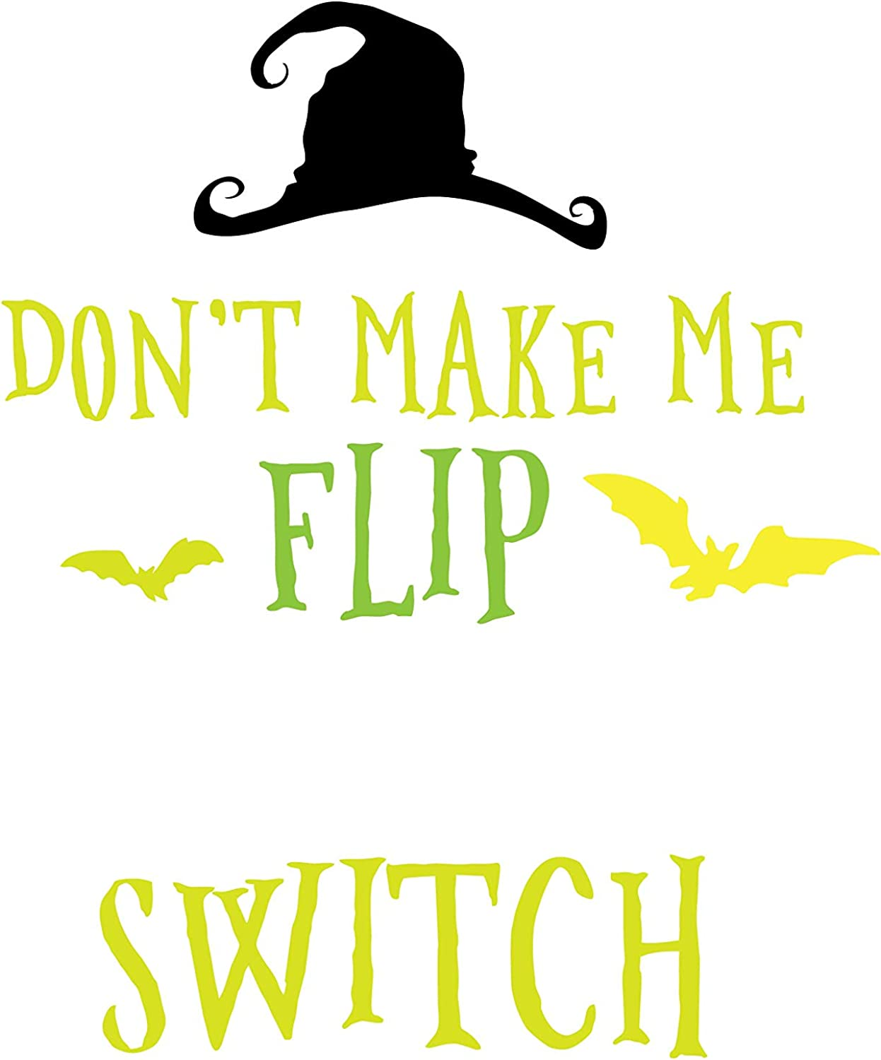 Dont Make Me Flip My Witch Switch Youth T-Shirt