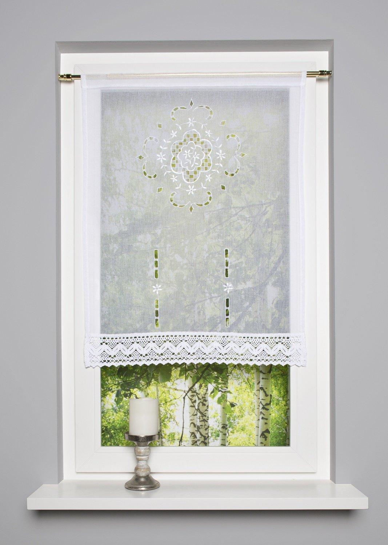 Scheibengardinen Kurzgardine Scheibenhänger FRENCH COUNTRY 60 x 100 cm oder 90 x 100 cm (BxH) ars-vivendi