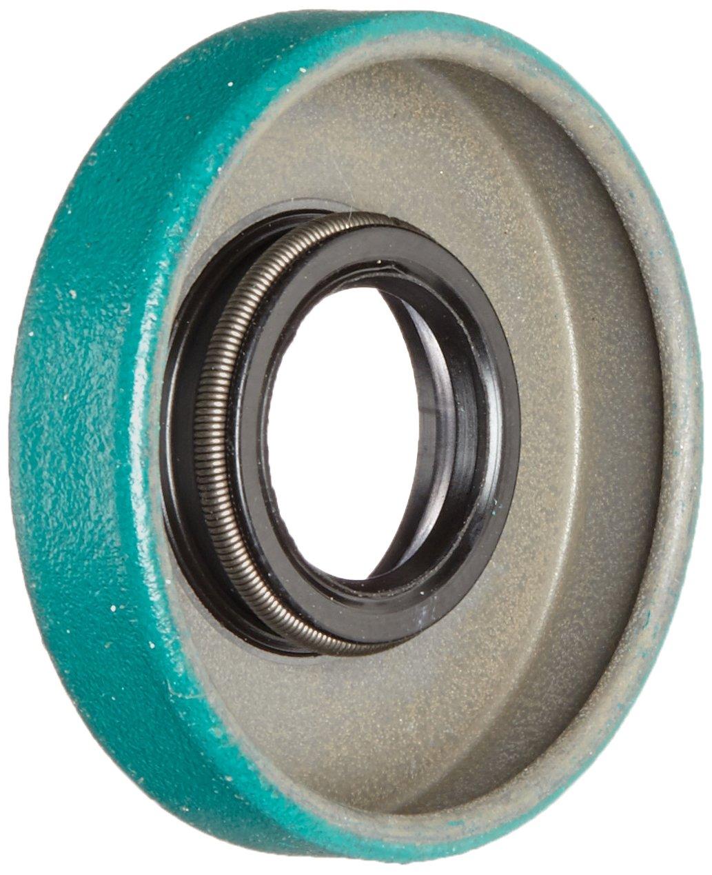 SKF 4390 LDS & Small Bore Seal, R Lip Code, CRW1 Style, Inch, 0.438' Shaft Diameter, 1.124' Bore Diameter, 0.25' Width 0.438 Shaft Diameter 1.124 Bore Diameter 0.25 Width