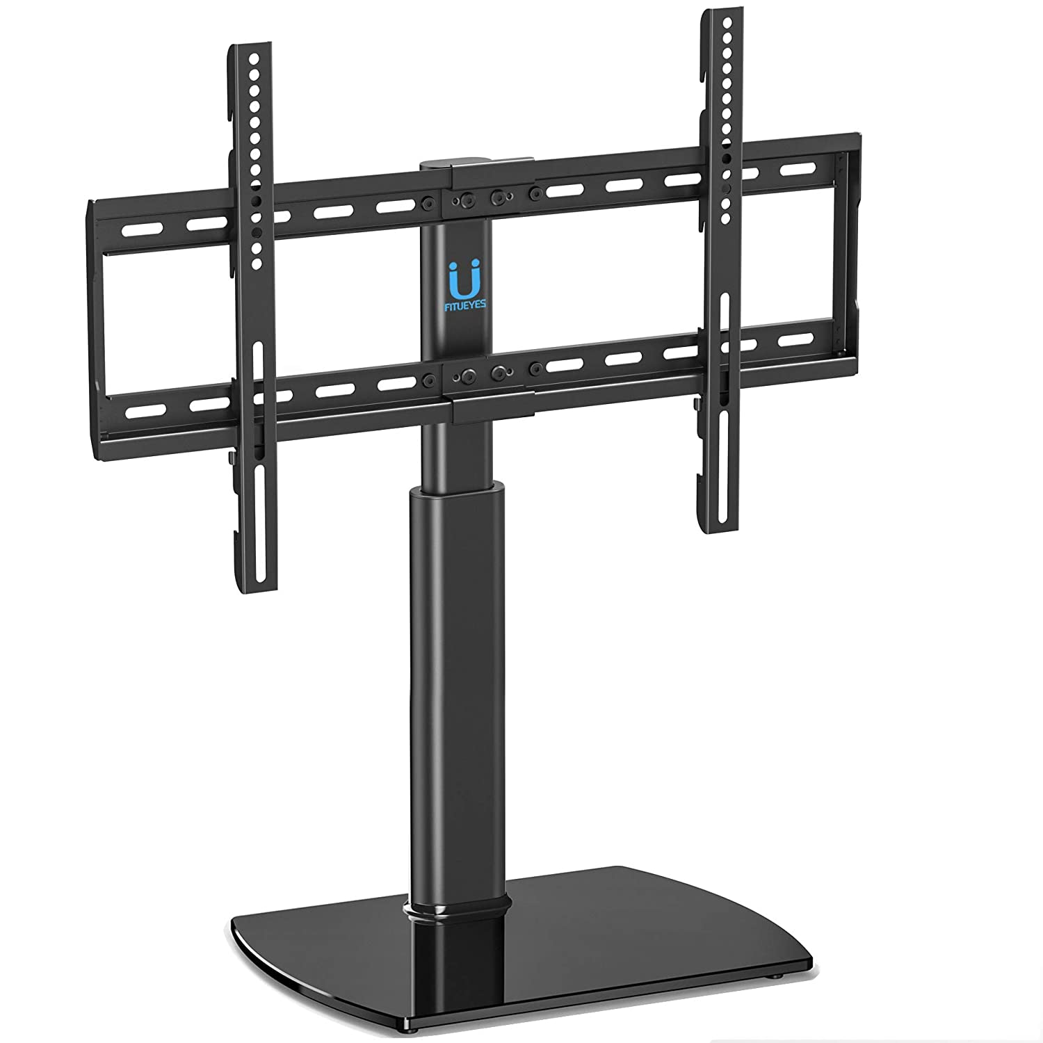 FITUEYES Universal TV Stand/Base Swivel Tabletop TV Stand Mount 32 to 65 inch Flat Screen Tvs/Xbox One/tv Component/Vizio Tv TT107002GB