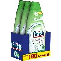 Finish Gel 0% Ecolabel reinigingsmiddel voor vaatwasser, 900 ml, 3 stuks