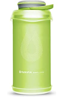 Hydrapak Unisex Stash Collapsible Bottle Grey Sports Running Water Hydration