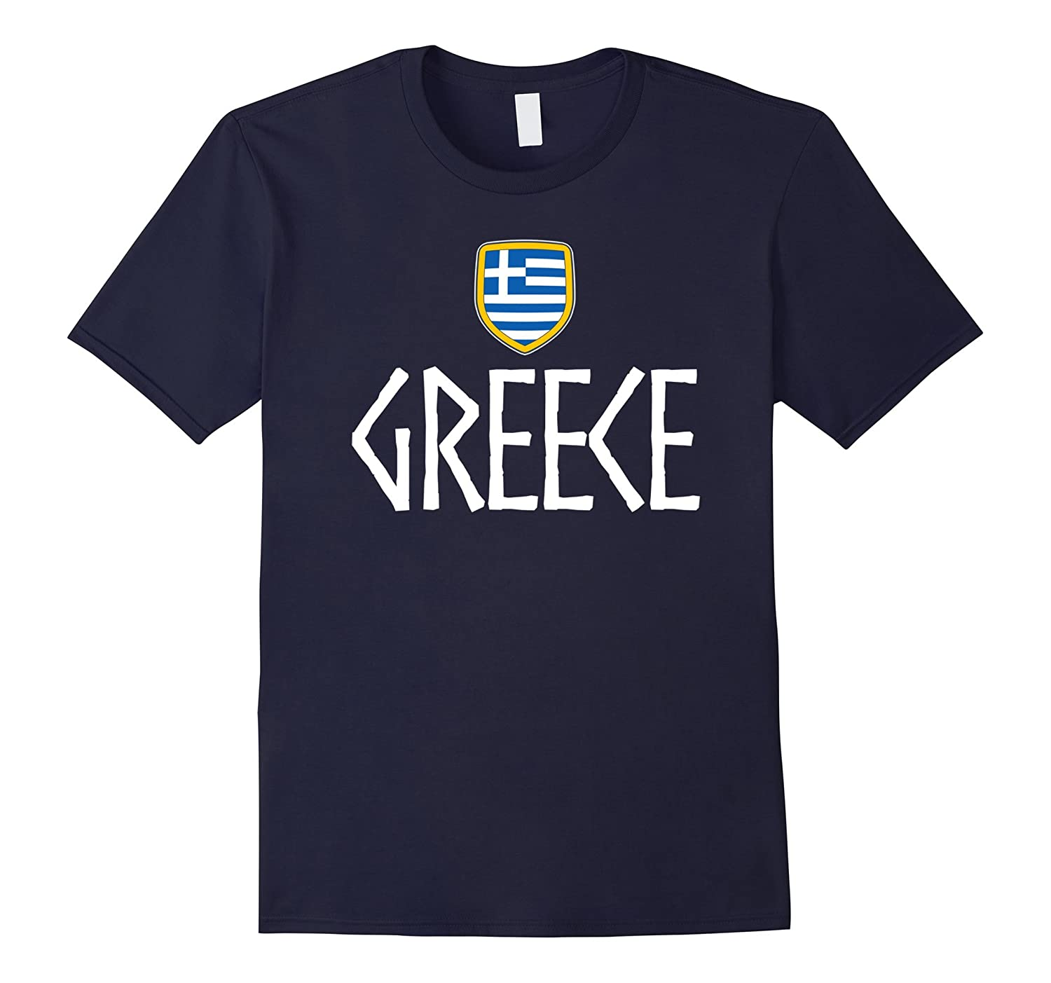 GREECE Vintage T-shirt Greek Flag Vacation Souvenir Travel-TD