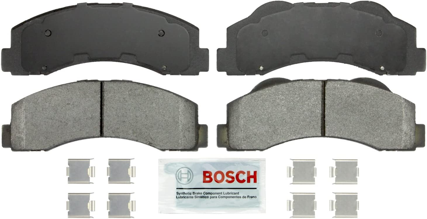 For Navigator Expedition Set of Front /& Rear Quiet Metallic Brake Pads