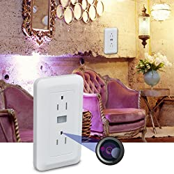 Wi-Fi Electrical Wall Outlet Spy Hidden Camera